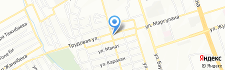 Airy Tour на карте Алматы
