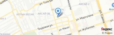 Таэквандо WTF на карте Алматы