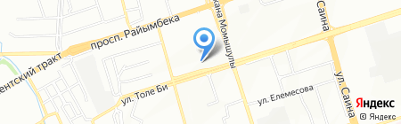 Огонёк на карте Алматы