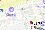 Схема проезда до компании HARDCOM в Алматы