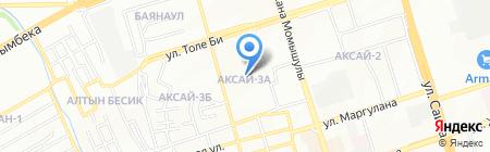 Коррекционный ясли-сад №66 для детей с тяжелыми нарушениями речи на карте Алматы