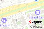 Схема проезда до компании Меруерт в Алматы