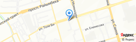 INTERDIALOG на карте Алматы