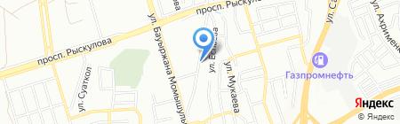 Ернар на карте Алматы