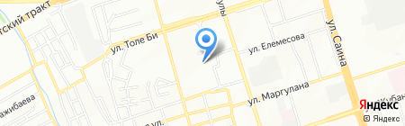 Сафура продуктовый магазин на карте Алматы