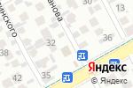 Схема проезда до компании Царь-Баня в Алматы
