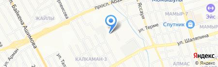 RDR Тех Строй на карте Алматы