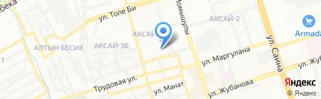 Школа-гимназия №123 им. Кожа Ахмета Яссауи на карте Алматы