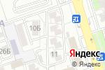 Схема проезда до компании Дарья в Алматы
