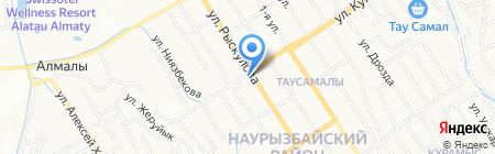 Аль-Санур на карте Алматы