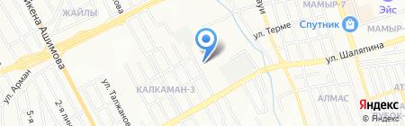 Медсистем на карте Алматы
