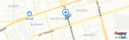 Дарья на карте Алматы