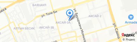Жулдыз-19 на карте Алматы