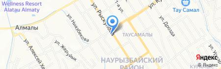 Беркут-А ТОО на карте Алматы