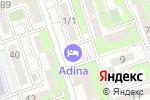 Схема проезда до компании Адина в Алматы