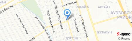 Свежая выпечка на карте Алматы
