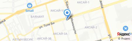 Продовольственный магазин №102 на карте Алматы