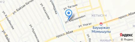 Мастерская реставрации подушек на карте Алматы