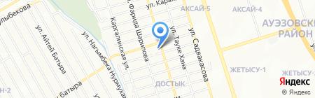 Vint на карте Алматы
