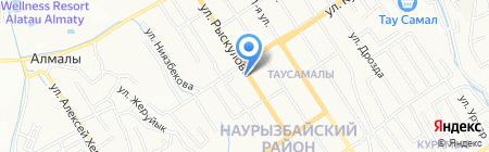 Кенес продовольственный магазин на карте Алматы