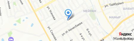 Гульжан на карте Алматы