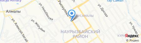 Жана Дент на карте Алматы