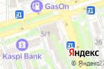 Схема проезда до компании Лимонка в Алматы