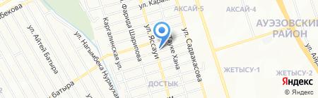 СД Импульс Алматы на карте Алматы