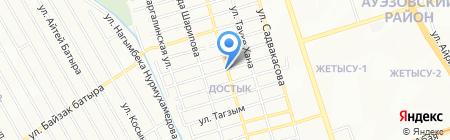 Мадина продуктовый магазин на карте Алматы