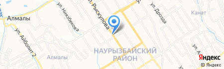 Шынгыс на карте Алматы