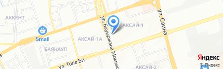 Камария на карте Алматы