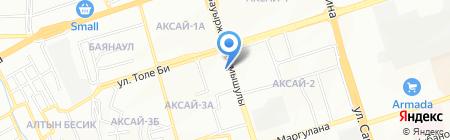 Сеть аптек на карте Алматы