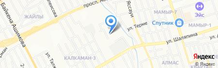 CommerceFactor на карте Алматы