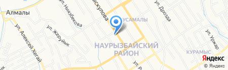 Super Target ТОО на карте Алматы