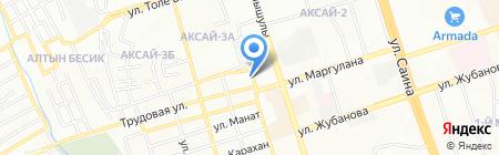 Мирада на карте Алматы