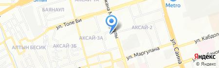 Ecochist kz на карте Алматы