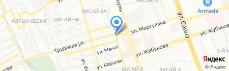 Наурыз на карте Алматы
