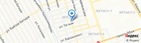 Самира продуктовый магазин на карте Алматы