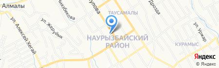 Абу-Бакр на карте Алматы