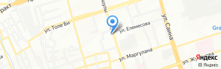 Сеть магазинов индийского трикотажа на карте Алматы