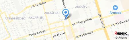 Рахимжан на карте Алматы