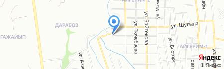 Мульдыр на карте Алматы
