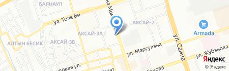 Аптека №8 на карте Алматы