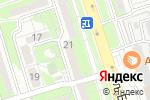 Схема проезда до компании Азия в Алматы