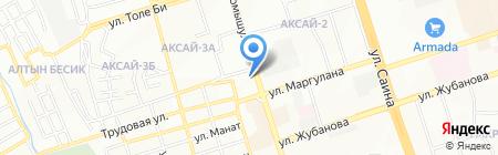 Мисон на карте Алматы