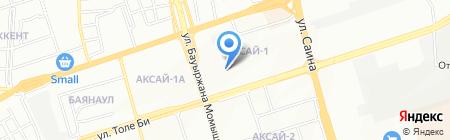 Общеобразовательная школа №133 на карте Алматы