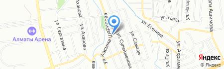СТО на карте Алматы