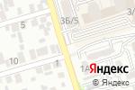 Схема проезда до компании Байконур, продуктовый магазин в Алматы