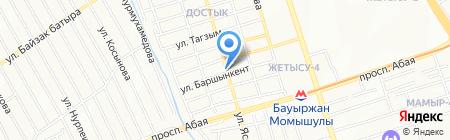 Kamilla сеть кондитерских на карте Алматы