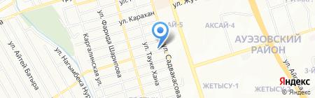 Кулинария на Ильича на карте Алматы